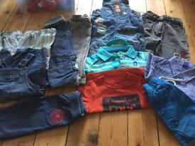 Baby boys bundle of 6-9 Months clothing