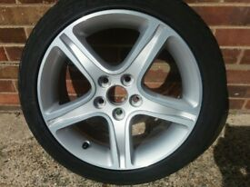 "LEXUS IS200 EXCELLENT 17"" ALLOY WHEEL + FREE USED BF GOODRICH 215/45/ZR17 TYRE"