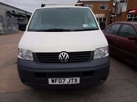 Window Cleaning van, VW transporter T5, everything you need to clean windows.