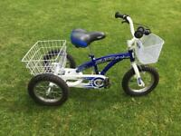 Pedal pals Super Trike, Tricycle, Blue, Immaculate