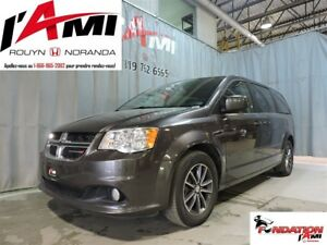 2017 Dodge Grand Caravan SXT PLUS GPS DVD CUIR MAGS
