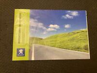 PEUGEOT Warranty & Maintenance Record Service Servicing Book