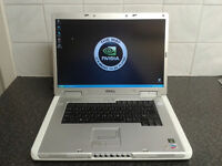 GAMING LAPTOP DELL INSPIRON 9300 17.1 LCD NVIDIA GEFORCE 6800 256MB
