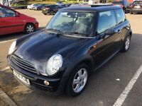 2006 MINI ONE D 1.4 DIESEL 6 SPEED MANUAL 65 MPG PANORAMIC SUNROOF! INS GROUP 12E