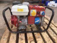 4 kva Mosa generator Honda petrol. good condition