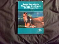 equine reproductive physiology,breeding and stud managment 3rd ed. post inc