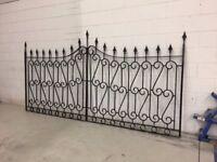 Antique Rod Iron Gates
