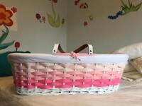 Moses basket for collection- free