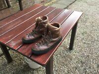 Scarpa Alp boots for hillwalking. Size 46.
