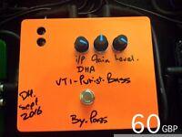 DHA VT-1 velve bass preamp