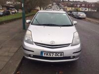 TOYOTA PRIUS T4 VVT-I HYBRID, With PCO ,MOT 12/06/2017, Clean Car, Road Tax £10 a Year