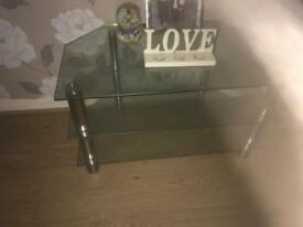 Tv stand - glass