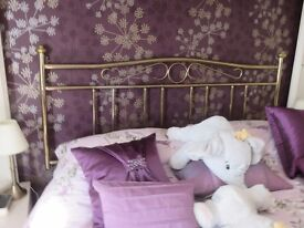 Brass Head Board for double bed