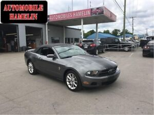 2010 Ford Mustang convertible mags manuelle