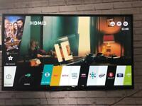 "LG 43"" 4K tv"