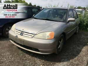 2001 Honda CIVIC LX-G ALLOY WHEELS, POWER GROUP, ABS, 4 DOOR