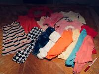 Baby Girl Clothes Bundle 3-6 mths