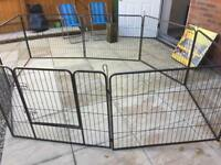 Heavy Duty Puppy Play Pen / Rabbit Enclosure