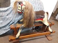 Traditional Quality Wooden Rocking Horse