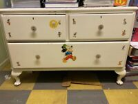 Chest of Drawers (Painted white)