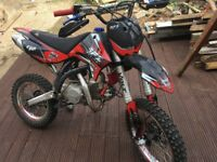 RFZ racing125 Pitbike big wheel