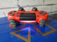 V2 controller red, limited edition days of play blue