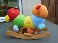 Mamas & Papas caterpillar rocker.