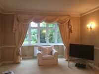 Amazing swags & tails curtains