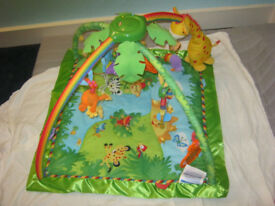 Fisher Price Rainforest Melodies and Lights Gym