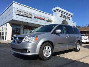 2016 Dodge Grand Caravan CREW,LEATHER,BACKUP,ALLOYS,NICE VAN!