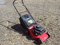 Reliable petrol lawn mower