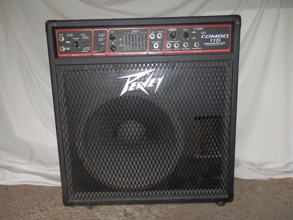 peavey combo 115 bass amplifier in corfe mullen dorset gumtree. Black Bedroom Furniture Sets. Home Design Ideas