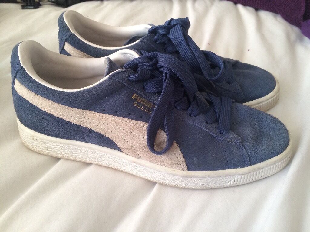 Puma Originalsin Coventry, West MidlandsGumtree - Puma suede originals uk size 4 Used but in very good condition Suede on front of right foot a little worn. 2 marks on outer white suede stripe on shoe