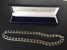 Genuine 925 silver chain .