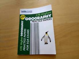 Cfe Higher Geography practice papers