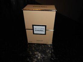 chanel allure 7.5 pure perfume unused 100% GENUINE