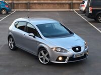 "✅ 58 SEAT LEON FR TDI 550 EDITION + WING BACK BUCKET SEATS + FSH + 18"" DRACO ALLOYS (AUDI/GOLF GTD)"