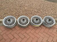 MGB wire wheels 4.5 x14