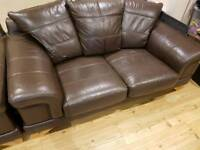 X2 Two Seat Leather Sofa's