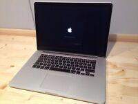 "MacBook Pro 15"" (mid 2015) 2.5 quad core i7 16GB memory 512GB SSD - in very good condition"