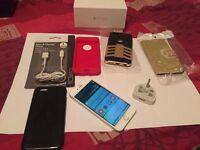 I phone 6 64GB Unlocked boxed Free case GOLD