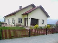 FOR SALE – A DETACHED HOUSE IN POLAND ,8 bedrooms