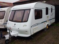 2003 Elddis Avante 524 4 Berth End Washroom Caravan with MOTOR MOVER
