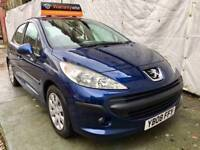 2008Peugeot 207 1.4 HDi S 5dr (a/c)LOW MILES 65K,LOW TAX A YEAR £20 FULL SERVICE HISTORY HPI CLEAR