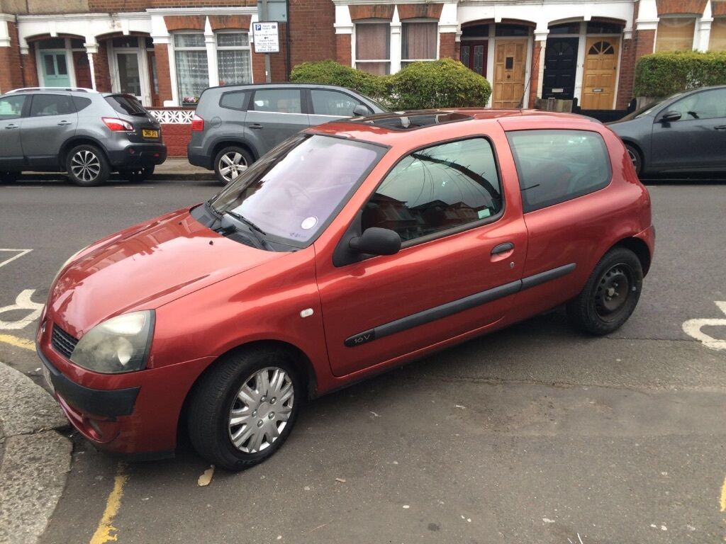 very cheap renault clio extreme 2 2003 hpi clear in wimbledon london gumtree. Black Bedroom Furniture Sets. Home Design Ideas