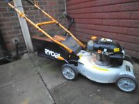 ryobi selfpropelled petrol lawn mower