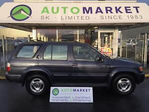 1997 Infiniti QX4 LOADED! LEATHER! SUNROOF