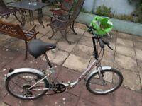 5 speed folding bike