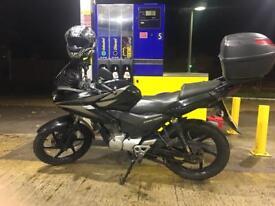 2012 Honda cbf mot oct18 full history £1200 mint bike!!