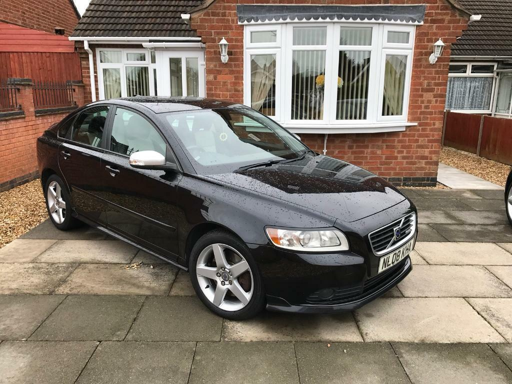 Volvo S40 R Design Full Leather Bluetooth Black In Leicester Leicestershire Gumtree